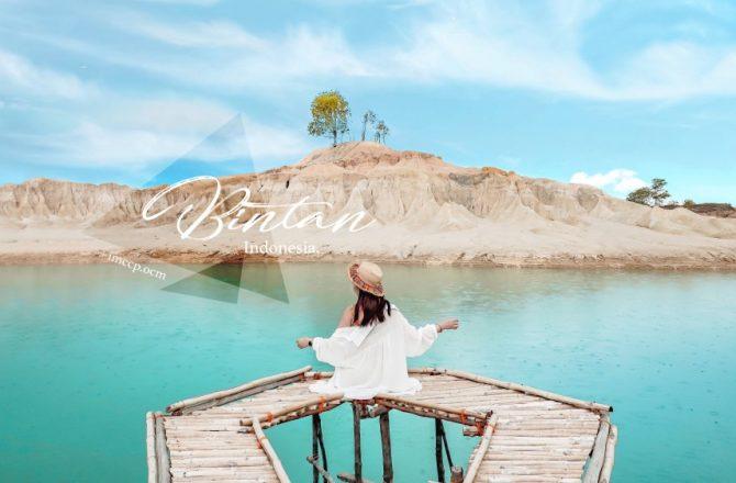 印尼民丹島黃金沙丘Gurun Pasir Busung。絕美藍湖人少超好拍