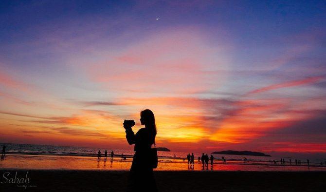 馬來西亞沙巴|世界三大最美夕陽之一:丹絨亞路海灘的夢幻時刻
