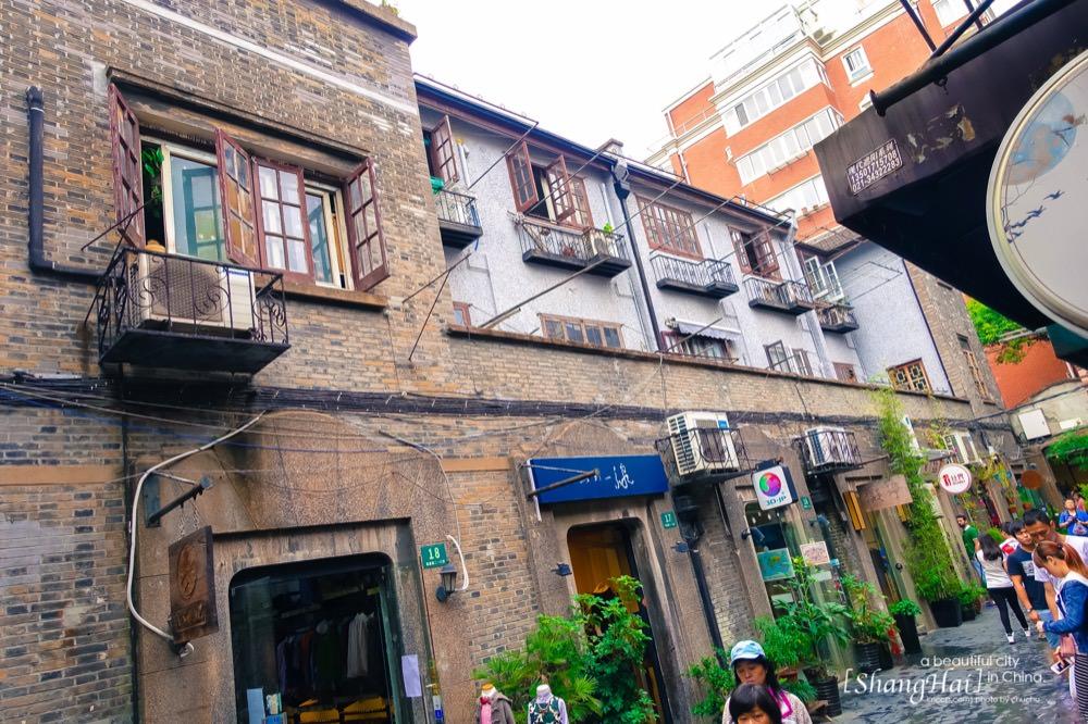 上海自由行,上海景點,田子坊